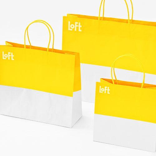 LOFT ショッピングバッグ