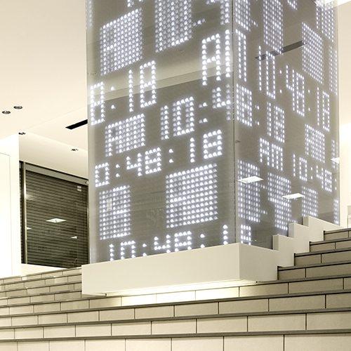 西武池袋本店 光の時計口